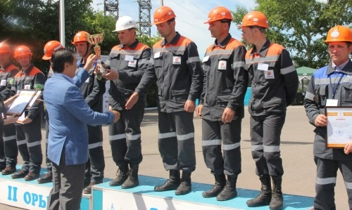 Electricians of CAEPCO JSC demonstrated skill and professionalism